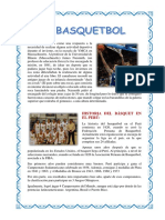 BasquETBOLL EN EL PERU