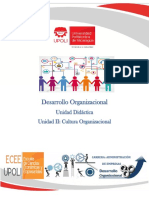 Unidad Didáctica Unidad II Cultura Organizacional