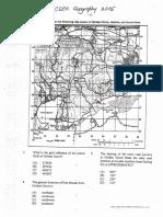 CSEC Geography June 2015 P1