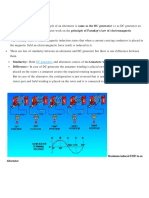 Working Principle of an Alternator