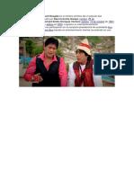 El Cholo Juanito y Richard Douglas