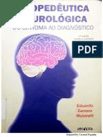 Propedêutica Neurológica - Do Sintoma Ao Diagnóstico - 2a Edição - (Eduardo Genaro Mutarelli) pirata torrent download escaneado