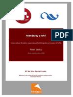 Manual Mendeley y APA 3ed