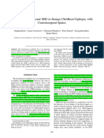 2003 EEG-related Functional MRI in Benign Childhood Epilepsy WithCentrotemporal Spikes