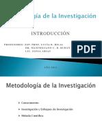 Metodología de La Investigación - Clase 1