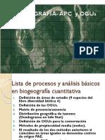 Biogeografia Cuantitativa - Paes en Mgc