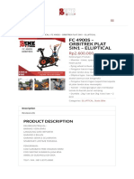 Fc 4900s – Orbitrek Plat 5in1