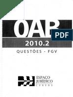 424 Questões-fgv Da Oab