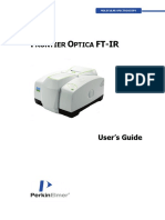 L1050103 - Frontier Optica FT-IR User's Guide