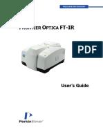 L1050103 - Frontier Optica FT-IR User's Guide