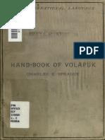 Handbook of Volapuk