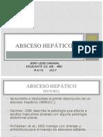 ABSCESO HEPATICO JEY