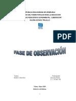 Trabajo de Fase de Observacion Diocelis Parra