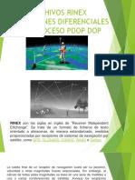 Rinex Correciones Diferenciales Postproceso Pdop Dop(1)