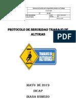 Protocolo de Seguridad Trabajos en Alturas