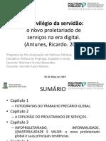 O Privilégio Da Servidão - apresentação politicas publicas uece