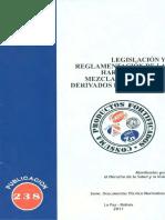 238 Legislación y Reglamentación de La Harina de Trigo y Derivados Fortificados