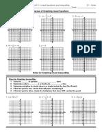 3.1 Graphinglinearequationsandinequalities Notes1