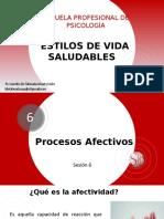Psicología (Enfermería)-Sesión 6 Procesos Afectivos
