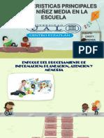 Caracteristicas Principales de La Niñez Media en La