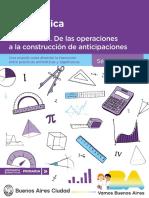 Matemática.divisibilidad. de Las Operaciones a La Construcción de Anticipaciones. Séptimo Grado