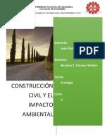 Construcción Civil y El Impacto Ambiental