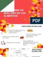 Reacciones de Maillard