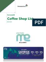 coffe shop list