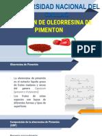 Primer Avance Oleorresina