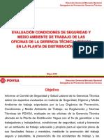 Presentación Situación Actual Oficinas Gerencia Técnica Mayo 2019
