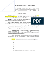 Contract for Consultancy Services Template