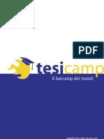 TesiCamp Presentazione 2010