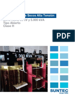 Catalogo Transformadores Secos Alta Tension Tipo Abierto 15 - 345 Kv