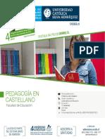 Pedagogía Castellano 2019