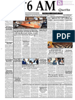 Daily 6 AM Quetta - 30 May 2019