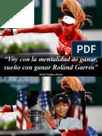 """Erick Malpica Flores - """"Voy Con La Mentalidad de Ganar, Sueño Con Ganar Roland Garros"""""""