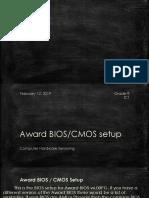 Award Bios.cmos Setup