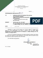Plea Bargaining in Drug Cases Pursuant to Estipona Case
