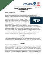 Manual Instruciton NGR