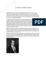 Juan Bautista y Thomas Malthus