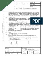 Procedure Test of Kraft Paper