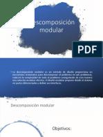 descomposicion modular