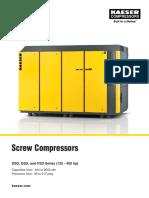 Compresor Keaser Dsd y Dfd