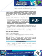 Evidencia 9 Sesion Virtual Supporting Your Improvement Plan for Your Product or Service