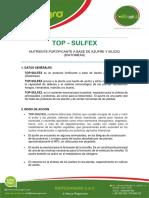 Ficha Tecnica - Top Sulfex