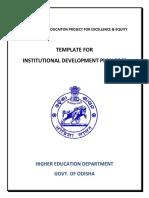 Revise IDP