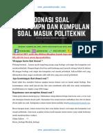 Soal UMPN 2018 PENS Kode 62.pdf
