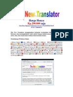 Software Penerjemah 59 Bahasa Dunia