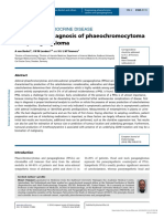 Biochemical Diagnosis of Phaeochromocytoma and Paraganglioma, 2014