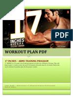 17 INCHES Workout Plan by Guru Mann